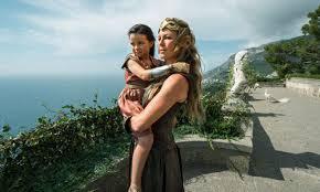 Wonder woman as a child