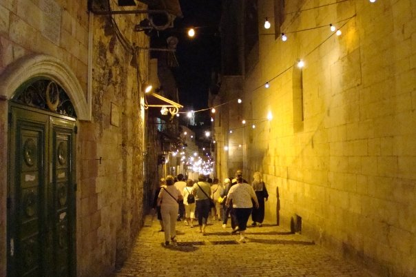 Walking the Via Dolorosa